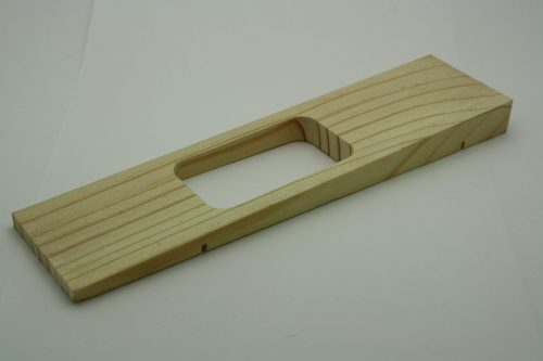 Pinewood Derby Car Body Razor Wedge