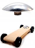 Pinewood Derby Weight Canopy - Tungsten