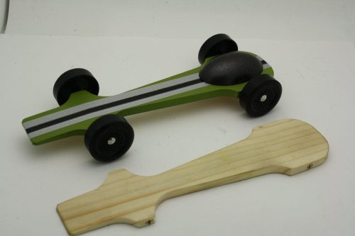 Pinewood Derby Complete Car Kits Talon with canopy
