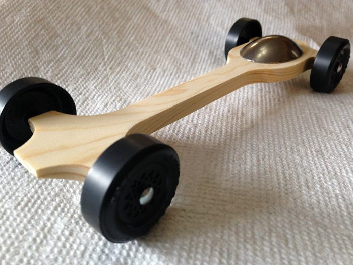 "Pinewood Derby Complete Car Kits --- ""Canopy #4"""