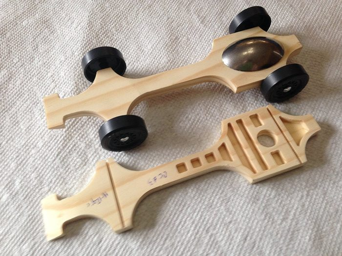 """Pinewood Derby Complete Car Kits --- """"Canopy #3"""""""