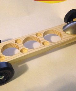 Complete Fast Winning Pinewood Derby Car