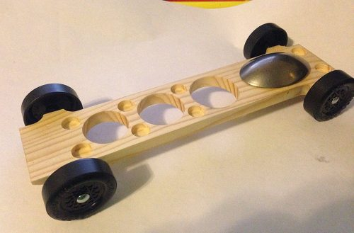 "Pinewood Derby Complete Car Kits --- ""Canopy #5"""